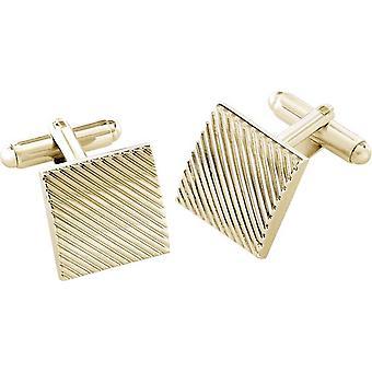 Duncan Walton Canton Essential Cufflinks - Gold