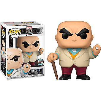 Spiderman Kingpin 1a App 80th An. Specialty Store Ex Pop!