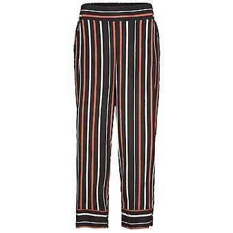 Masai Clothing Petrina Red Ochre Striped Culottes