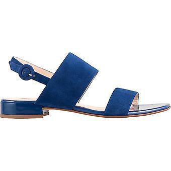 Hogl fröhliche blaue Sandalen Damen blau