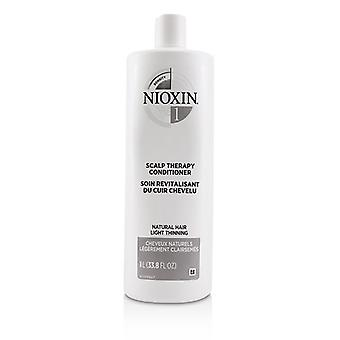 Nioxin Density System 1 Scalp Therapy Conditioner (Natural Hair, Light Thinning) 1000ml/33.8oz