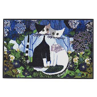 Rosina Wachtmeister kynnysmatto häät 50 x 75 cm kissa Kynnysmatto
