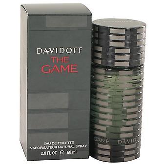 The Game Eau De Toilette Spray By Davidoff 2 oz Eau De Toilette Spray