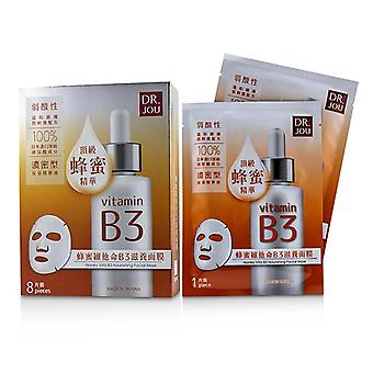 DR. JOU (By Dr. Morita) Honey Vita B3 Nourishing Facial Mask 8pcs