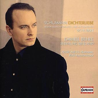 Schumann/Schubert - Schumann: Dichterliebe; Schubert: Songs [CD] USA import