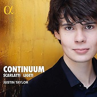 Scarlatti / Taylor - Continuum [CD] Usa import