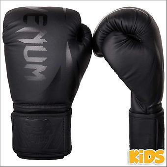 Venum challenger 2.0 kids boxing gloves black/black