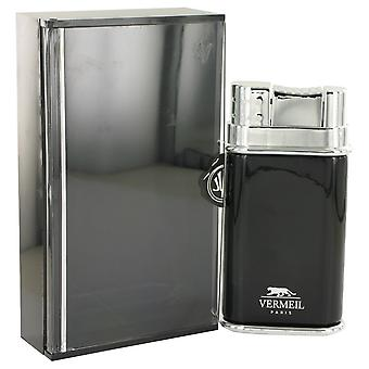 Vermeil Black by Vermeil Eau De Toilette Spray 3.4 oz / 100 ml (Men)