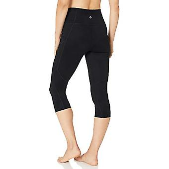 Brand -Core 10 Women's All Day Comfort High Waist Yoga, Black, Size Large