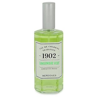 1902 Gingembre Vert Eau De Cologne Spray (Tester) By Berdoues 4.2 oz Eau De Cologne Spray