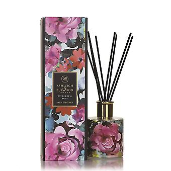 Ashleigh & Burwood Design Anthology Luxury Scented Reed Diffuser Boxed Gift Set In Bloom