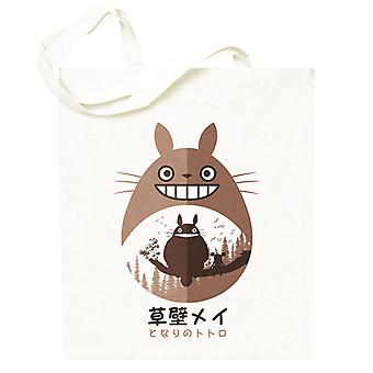 Naapurini Totoro Forest Totebag