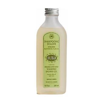 Organic Shower Shampoo 230 ml Aloe vera OLIVIA 230 ml