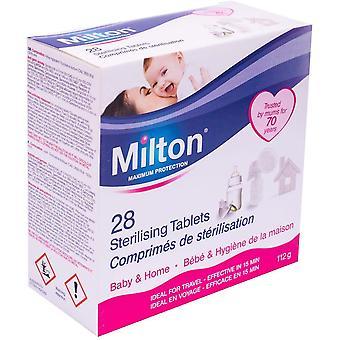 Milton Stérilising Tablets - 28 Comprimés - Pack de 6
