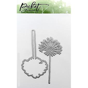 Picket Fence Studios dandelion Foil y Cutting Die