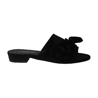 Kenneth Cole New York Womens candice Fabric Open Toe Casual Slide Sandals