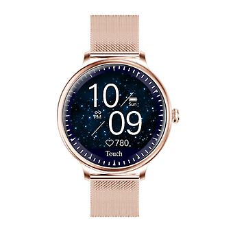 Rundoing NY12 Luxury Smartwatch Watch Fitness Activity Tracker iOS Android - Gold