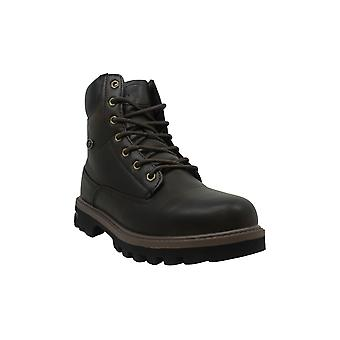 Lugz Men's Shoes MEMHFBD-001 Leather Closed Toe Ankle Safety Boots