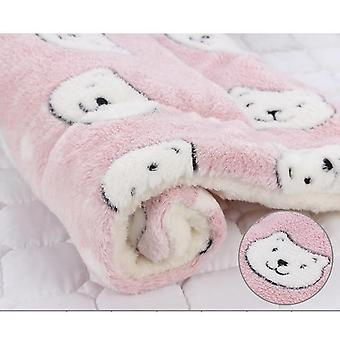 Pet Winter Blanket - Thicken Warm Sleeping Beds For Small Medium Dogs