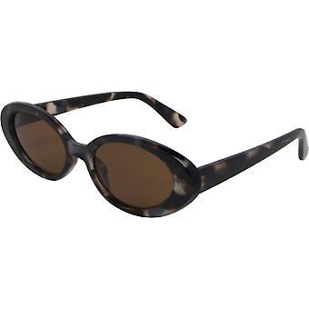 Sonnenbrille Damen    oval Kat.3 braun/braun (6600-B)