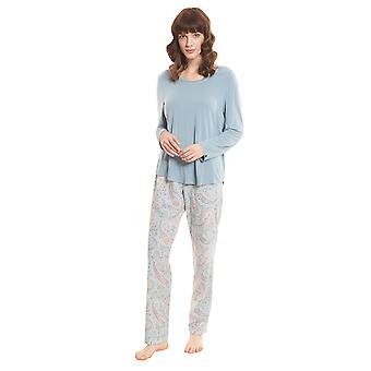 Rösch Smart Casual 1203511-13117 Women's Paisley Pyjama Set