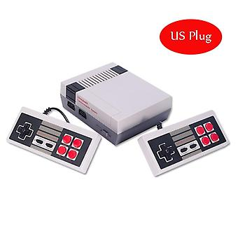 Mini Tv Handheld Family Recreation Video Game Console Av Output Retro Incorporado en 620 Juegos Clásicos Dual Gamepad Gaming Player