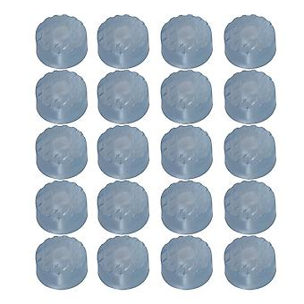 20pcs Rubber Furniture Feet Floor Protector Pads
