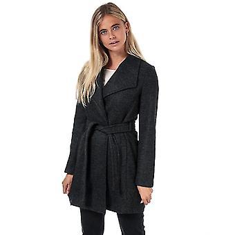 Frauen's Vero Moda Brushed Dora Jacke in grau