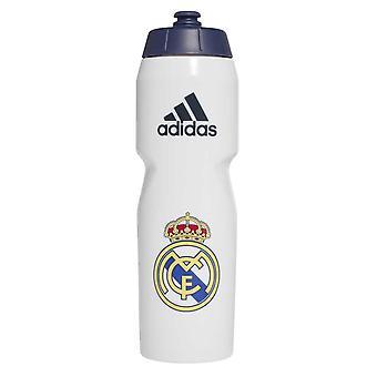 2020-2021 Sticla de apa Real Madrid (Alb)