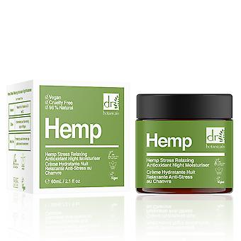 Dr. Botanicals Hemp Stress Relaxing Antioxidant Night Moisturiser 60 Ml For Women