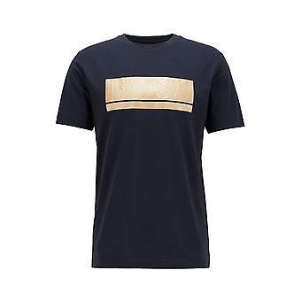 BOSS Athleisure Boss Athlesiure Teeonic T-shirt Blu scuro
