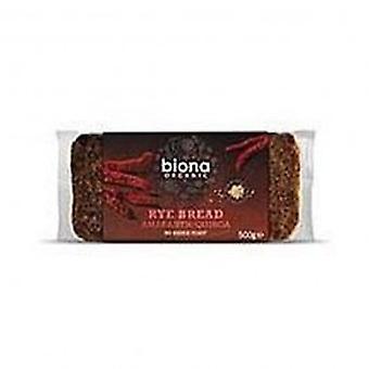 بيونا-خبز الجاودار الكينوا قُطيفة Org 500 غرام
