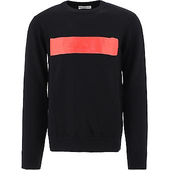 Givenchy Bm90eg4y5d009 Men's Black Wool Maglioner