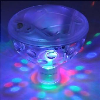 Unterwasser Led Disco Pool Licht, schwimmende Glühen Show Lampe