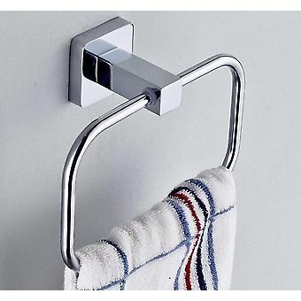 Bathroom Towel Holder, Stainless Steel Wall-mounted Round  Towel Rings ,towel