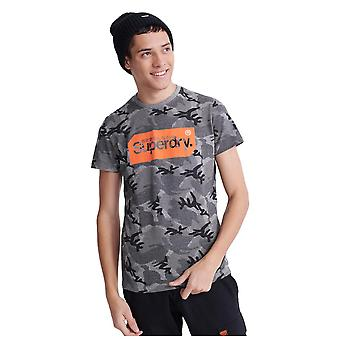 Superdry Core Logo Tag Camo All Over Print T-paita