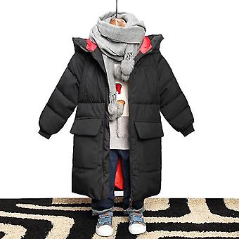 Camouflage Hooded Jacket For Boys - Winter