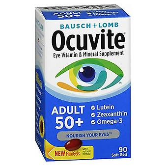 Bausch And Lomb Bausch + Lomb Ocuvite Adult 50+ Eye Vitamin & Mineral, 90 Softgels