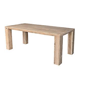 Wood4you - Gartentisch Chicago Gerüstholz 150Lx78Hx74D cm