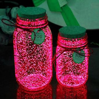 Glow In The Dark Luminous Star Painting Wishing Botella Brillante Polvo Juguete
