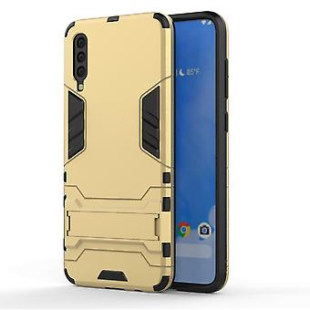 Anti-impact Case voor Samsung Galaxy M20 Gold hengkaikeji-23