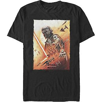 Nousu Skywalker Dark Side Poster Star Wars t-paita