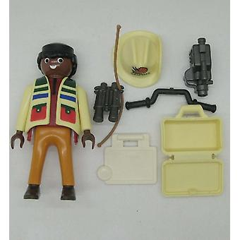 Playmobil Geobra Jungle Reporter, Action Figure Toy Collectible