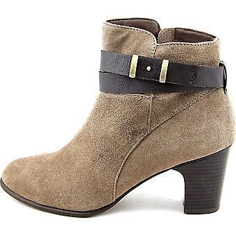 Giani Bernini Womens CALAE Leather Round Toe Ankle Cowboy Boots