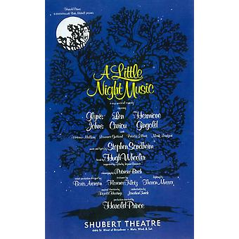 Little Night Music A (Broadway) Movie Poster (11 x 17)