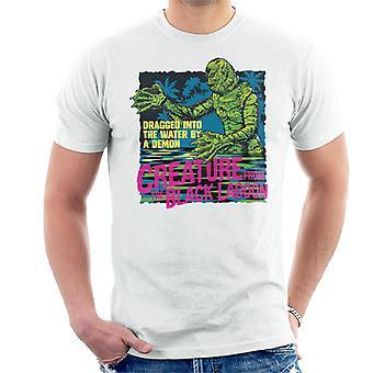 Die Kreatur aus der schwarzen Lagune gezogen Dämon Men's T-Shirt