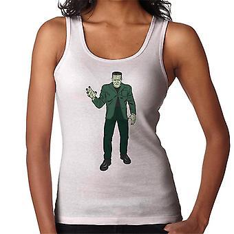 Frankenstein Monster Pose Illustration Women's Vest