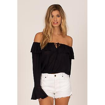 Amuse society bella babe knit top