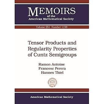 Tensor Producten en regelmatigheid eigenschappen van Cuntz Semigroups (Memoirs van de American Mathematical Society)