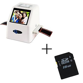 High Resolution 22 Mp 35mm Negative Film Scanner Super 8 Slide Photo Film